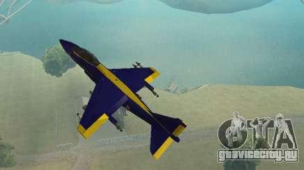 BlueAngels Hydra для GTA San Andreas