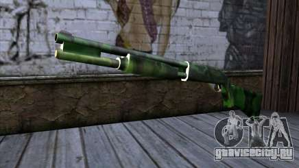 Chromegun v2 Военная раскраска для GTA San Andreas