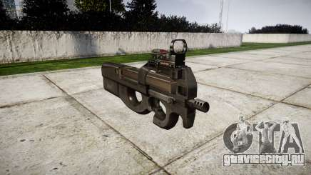 Бельгийский пистолет-пулемёт FN P90 для GTA 4