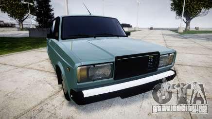 ВАЗ-2107 бункер для GTA 4