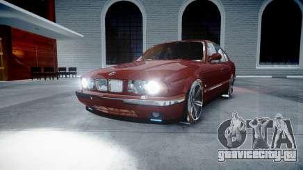 BMW M5 E34 1995 Stock для GTA 4