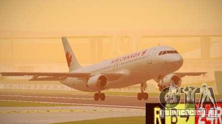 Airbus A320-214 Air Canada для GTA San Andreas