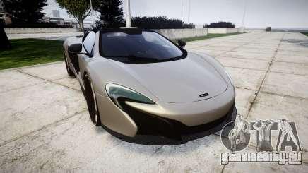 McLaren 650S Spider 2014 [EPM] v2.0 для GTA 4