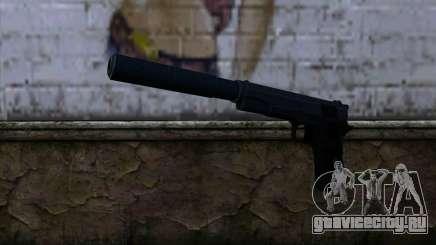 New Silenced Colt45 для GTA San Andreas