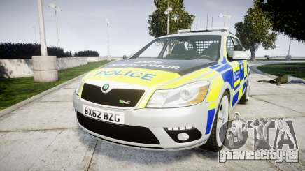 Skoda Octavia vRS Comb Metropolitan Police [ELS] для GTA 4