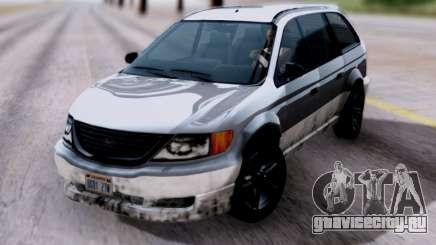 GTA V Minivan для GTA San Andreas