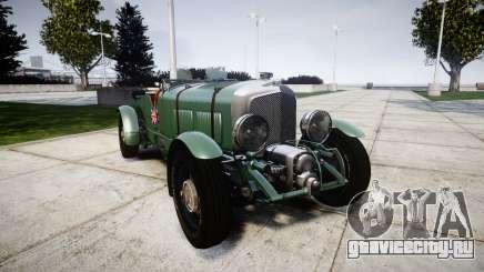 Bentley Blower 4.5 Litre Supercharged [low] для GTA 4