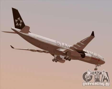 Airbus A330-300 Air Canada Star Alliance Livery для GTA San Andreas вид справа