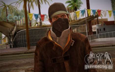 Aiden Pearce from Watch Dogs v5 для GTA San Andreas третий скриншот
