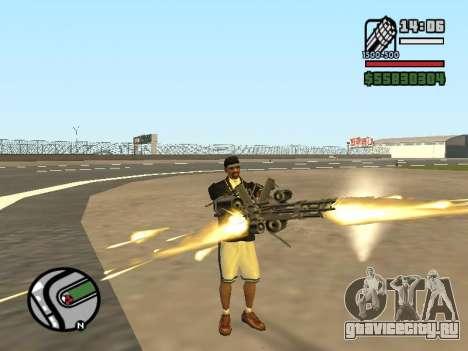 Двойное владением всем оружием для GTA San Andreas пятый скриншот