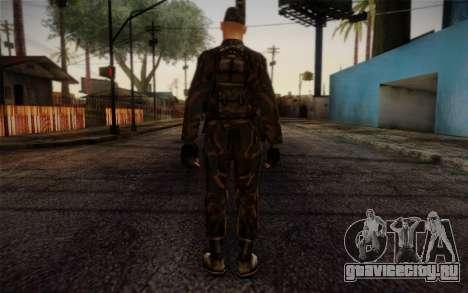 Soldier Skin 4 для GTA San Andreas второй скриншот