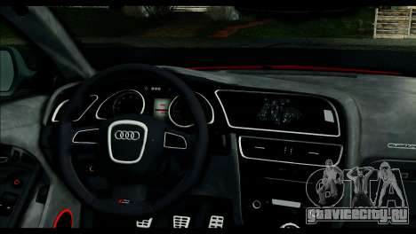 Audi RS5 Coupe для GTA San Andreas вид сзади слева