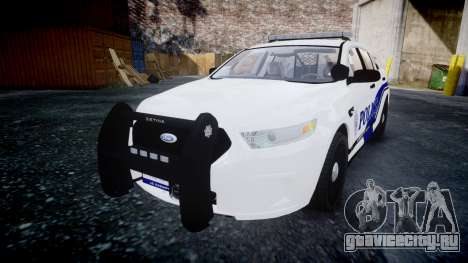 Ford Taurus 2014 Liberty City Police [ELS] для GTA 4