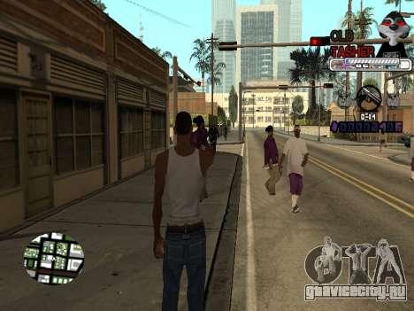 C-HUD Cesar Weezy для GTA San Andreas второй скриншот