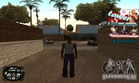 C-HUD Tawer GTA 5 для GTA San Andreas