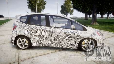 Honda Fit 2006 Sharpie для GTA 4 вид слева