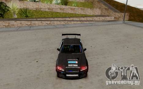 Nissan Skyline GT-R 34 Toyo Tires для GTA San Andreas вид слева