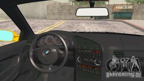 BMW M3 E36 Camber Style для GTA San Andreas вид сзади слева