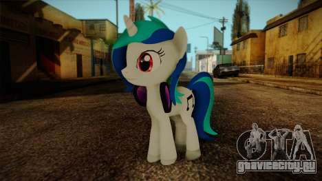 Vinyl Scratch from My Little Pony для GTA San Andreas