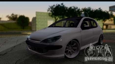 Peugeot 206 Drift JDM Style для GTA San Andreas