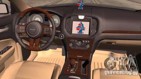 Chrysler 300C для GTA San Andreas вид сзади слева