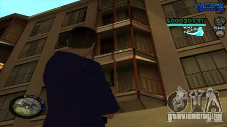 C-HUD Lopez для GTA San Andreas четвёртый скриншот