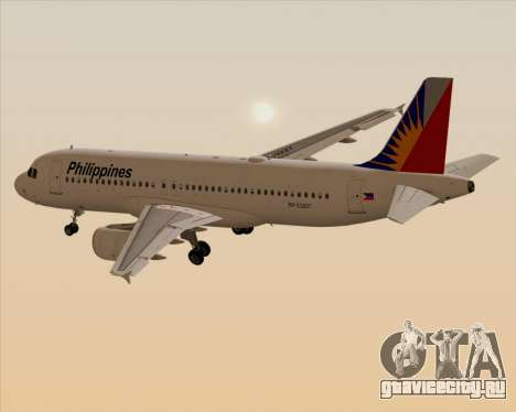 Airbus A320-200 Philippines Airlines для GTA San Andreas