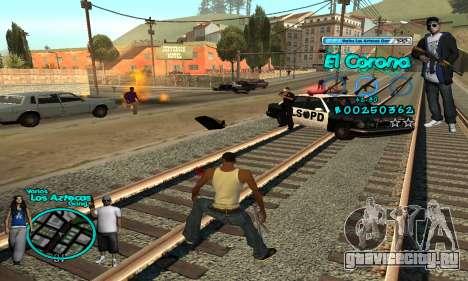 C-HUD Aztec El Corona для GTA San Andreas четвёртый скриншот