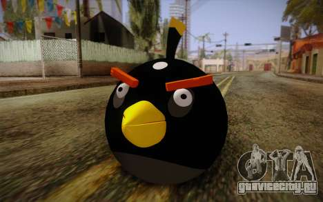 Black Bird from Angry Birds для GTA San Andreas