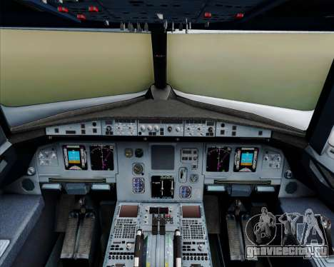 Airbus A320-200 Philippines Airlines для GTA San Andreas салон