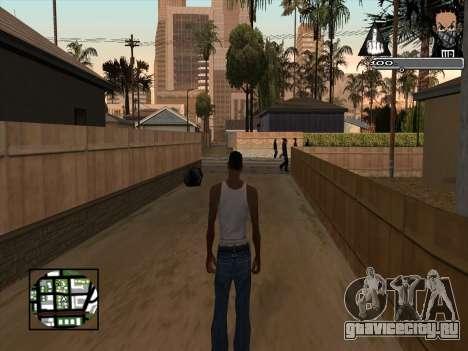 Marusya C-HUD для GTA San Andreas