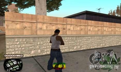 C-HUD Rasta для GTA San Andreas второй скриншот