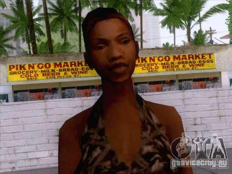 New Ballas Skin 3 для GTA San Andreas третий скриншот