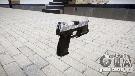 Пистолет HK USP 45 siberia для GTA 4 второй скриншот