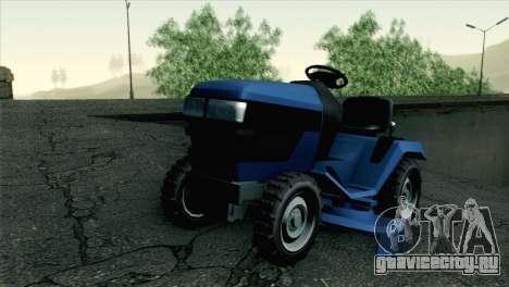 GTA V Mower для GTA San Andreas