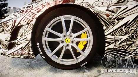 Ferrari F430 Scuderia 2007 Sharpie для GTA 4 вид сзади
