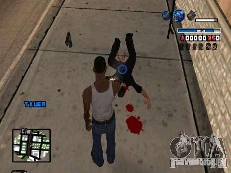 C-HUD Fantastik для GTA San Andreas