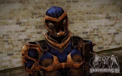 Shepard Reckoner Armor from Mass Effect 3 для GTA San Andreas третий скриншот
