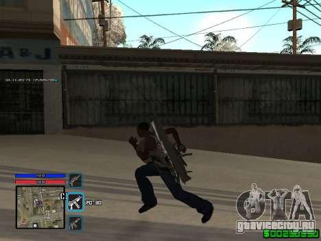 C-HUD Only Ghetto для GTA San Andreas второй скриншот
