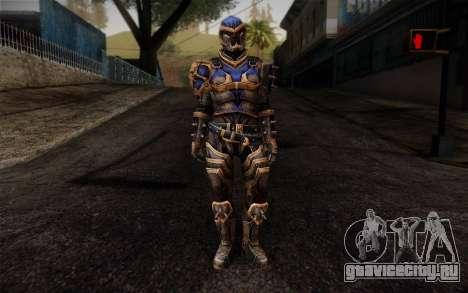 Shepard Reckoner Armor from Mass Effect 3 для GTA San Andreas