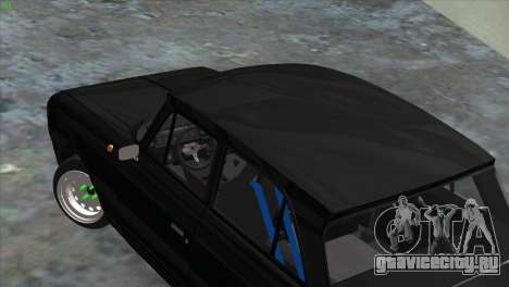 ИЖ 412 Корчевой для GTA San Andreas вид слева