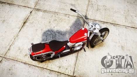 Western Motorcycle Company Daemon для GTA 4 вид справа