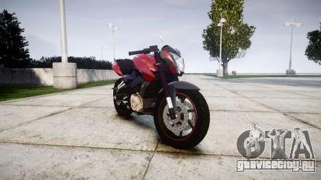 Bajaj Pulsar 200NS Custom для GTA 4