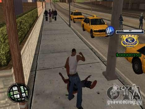 C-HUD Police S.A.P.D для GTA San Andreas