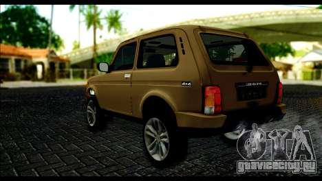 Lada 4x4 Urban для GTA San Andreas вид слева