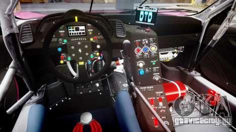 Ferrari 458 GT2 для GTA 4 вид изнутри