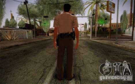 Alex Shepherd From Silent Hill Police для GTA San Andreas второй скриншот