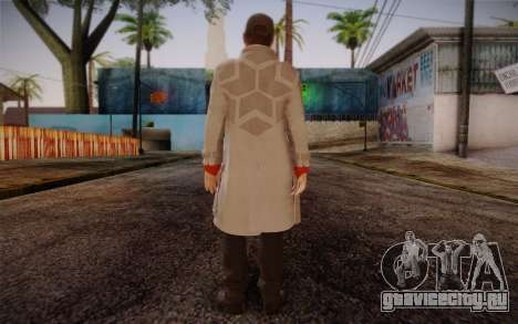 Aiden Pearce from Watch Dogs v7 для GTA San Andreas второй скриншот