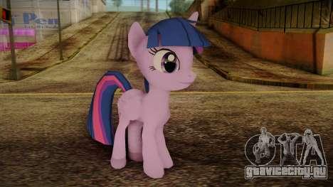 Twilight Sparkle from My Little Pony для GTA San Andreas