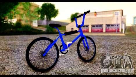 New BMX Bike для GTA San Andreas вид сзади слева